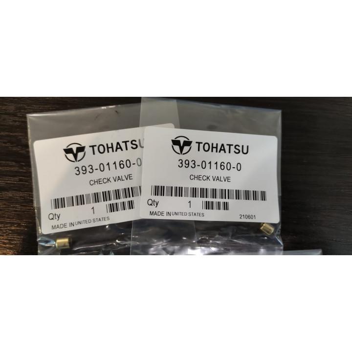 Обратный клапан (393-01160-0) для мотора Tohatsu