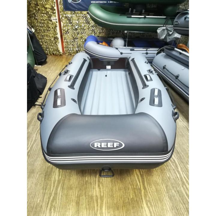 Надувная ПВХ лодка REEF Тритон 420