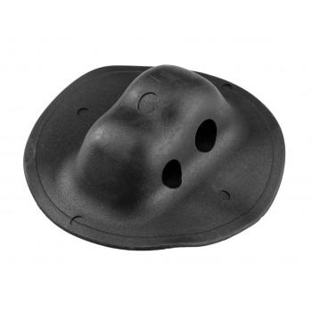 Рым леерный двойной черный (два отверстия)  ( Г )  100 мм d=11  12,5