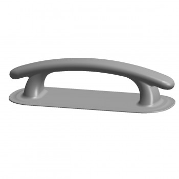 Ручка лодочная кнехт серая (Г-392, ПГ-080)