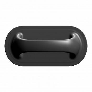 Ручка лодочная большая черная (Г)