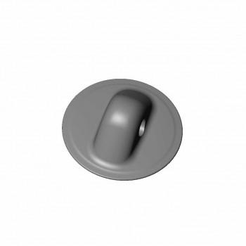 Рым леерный малый серый (Г ) 78 мм d=11.8