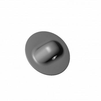 Рым леерный микро черный (Г) 70 мм d=10