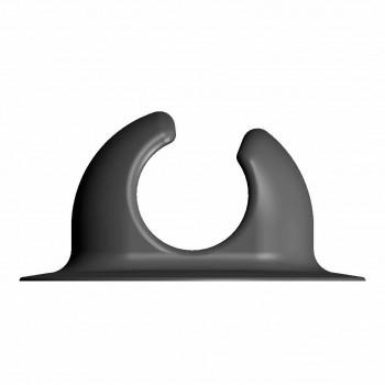 Защелка весла большая 32-35 мм серая  (Г74-ГП066)