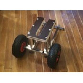 Тележка для моторов до 6 л.с.  из нержавеющей стали (205)