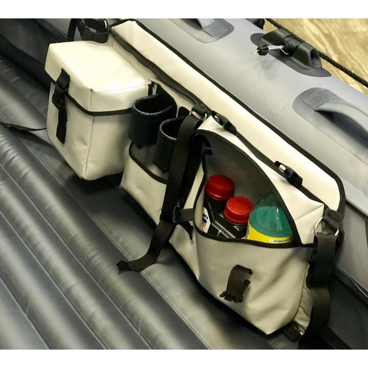 Органайзер лодочный с термокарманом и площадкой для установки эхолота