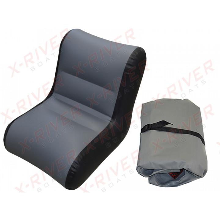 Надувное кресло для лодки, модель X-River S60 (60см.\54-58см)