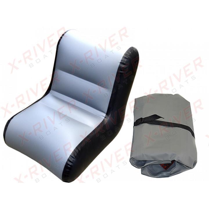 Надувное кресло для лодки, модель X-River S65 (65см.\59-63см.)