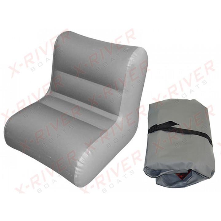 Надувное кресло для лодки, модель X-River S80 (80см.\75-78см.)