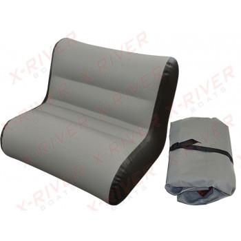 Надувное кресло для лодки, модель X-River S90 (90см.\85-88см.)
