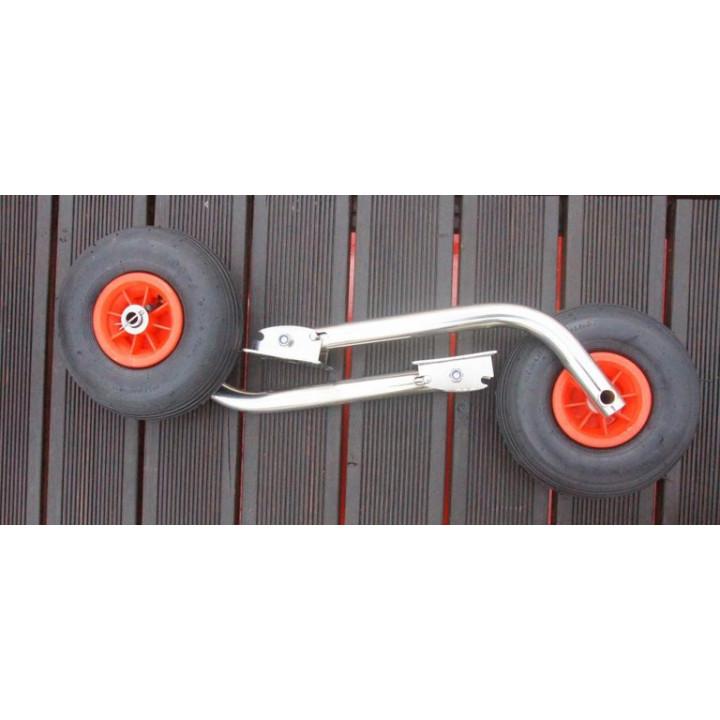 Транцевые колеса (шасси) для лодок с дном низкого давления (0211)
