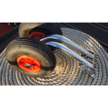 Транцевые колеса (шасси) для РИБов (0521)