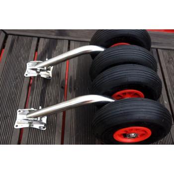 Транцевые колеса (шасси) усиленные (0112)