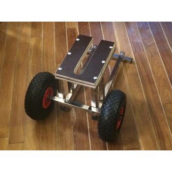 Тележка для мотора 8-15 лс из нержавеющей стали (220)