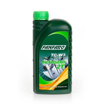 Масло моторное Fanfaro outboard 2T TC-W3 1 литр