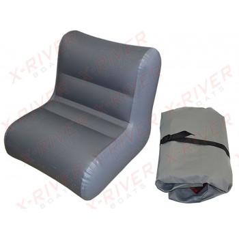 Надувное кресло для лодки, модель X-River S85 (85см.\80-83см.)