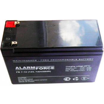 Аккумулятор герметичный необслуживаемый 7 А/ч (СА_1270)