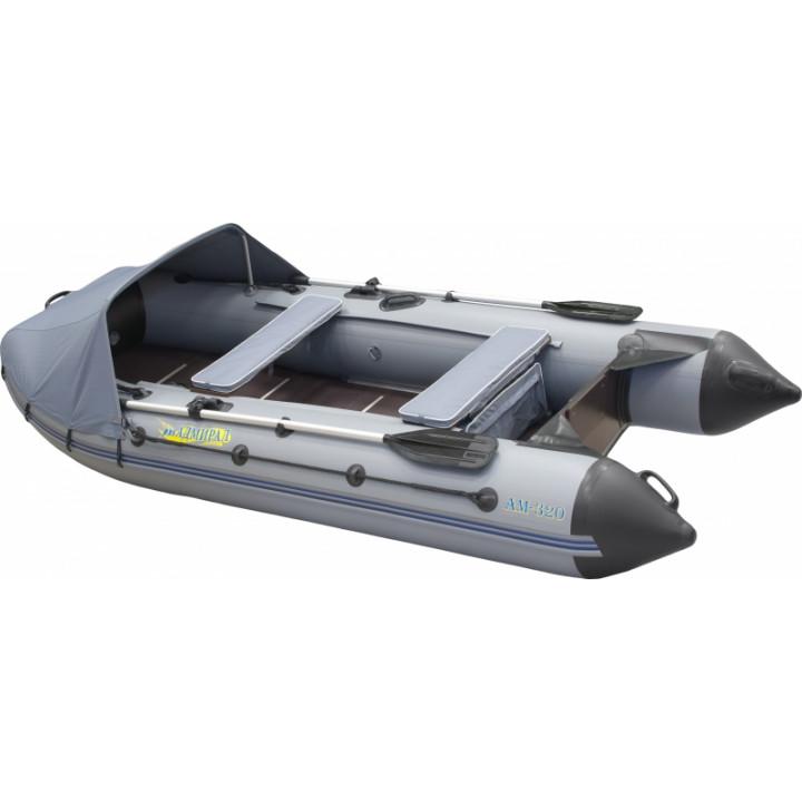 Надувная ПВХ лодка Адмирал 320 Classic Lux