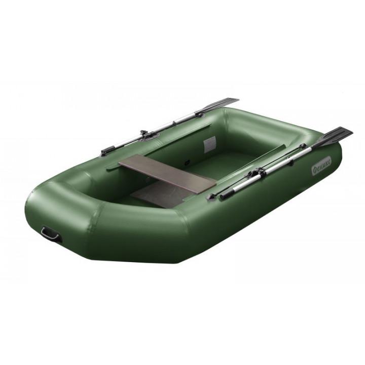 Надувная ПВХ лодка Феникс 250 с жестким дном
