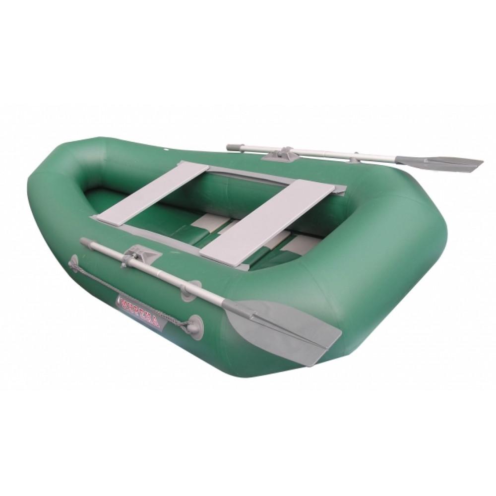 Надувная лодка мнев мурена mp-270 пайола оливковый