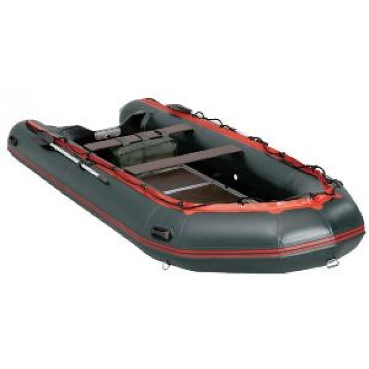 Надувная лодка ПВХ KOMANDOR KMD-430PRO (черн.)