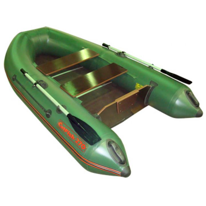 Надувная лодка Мнев и К CatFish 270