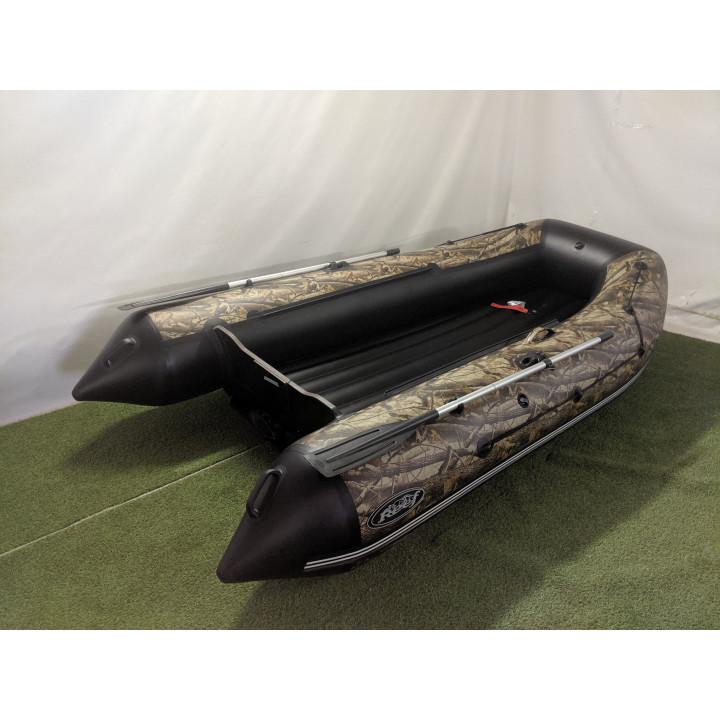 Надувная ПВХ лодка REEF 340 НД камуфляж