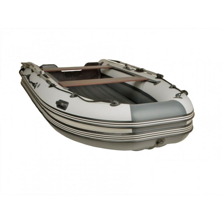 Надувная ПВХ лодка REEF SKAT 370 с пластиковым транцем