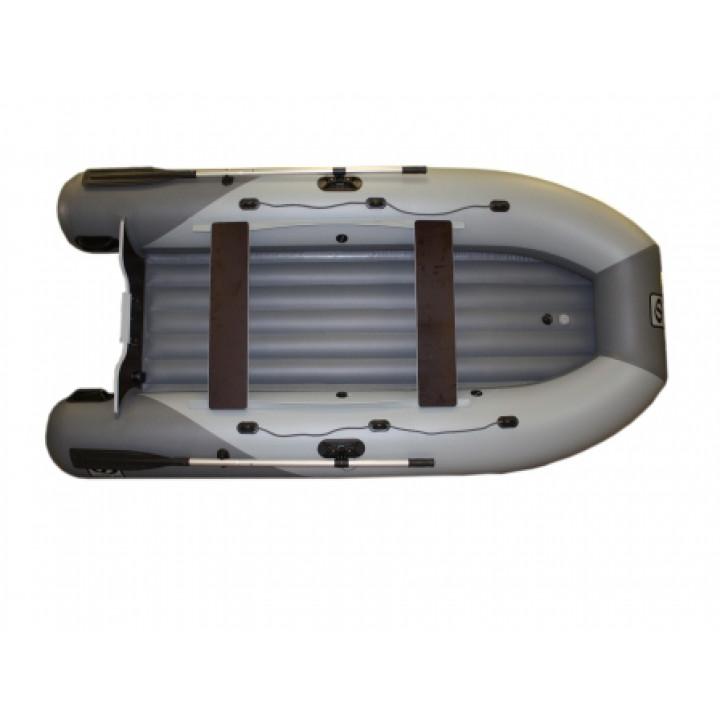 Надувная лодка пвх Фрегат 330 Air л/т с НДНД