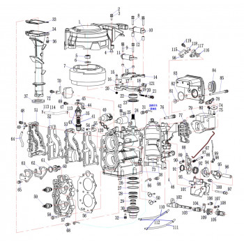 L болт соединительного разъема 15F-01.03.10
