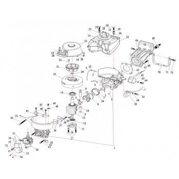 Ограничитель лепесткового клапана 3.5F-01.01.04