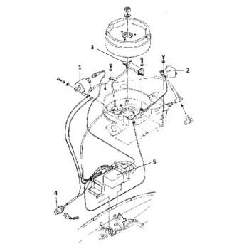 Высоковольтная катушка зажигания 5F-01.03.05