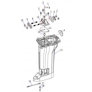 Подушка двигателя 15F-05.04.00