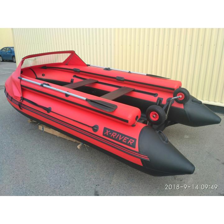 Надувная лодка X-River GRACE Wind 380 НДНД с фальшбортом