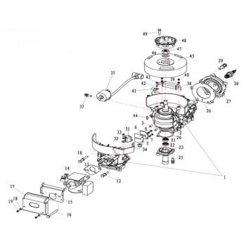 Кранштейн воздушного фильтра 5F-01.04.10