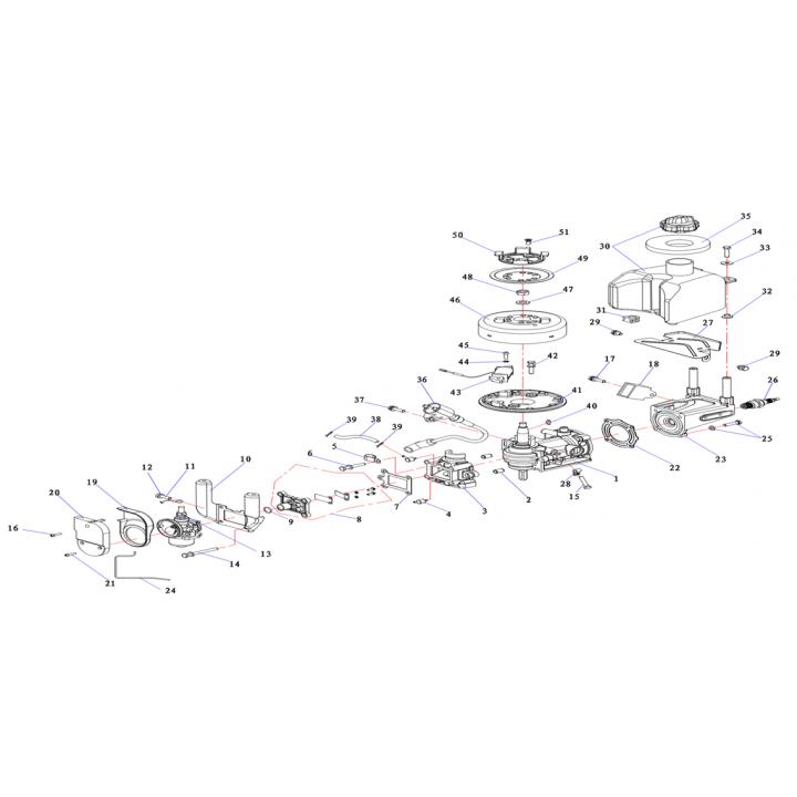 Воздушный фильтр (1) для лодочного мотора (2.5F-01.04.02.01)
