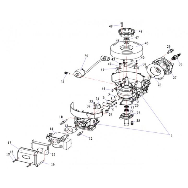Воздушный фильтр 5F-01.04.09