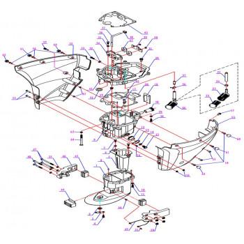 Подушка двигателя F9.9-05.01.00.00