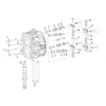 Пружина клапана F15-01.03.00.03