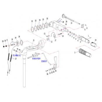 Выключатель аварийной остановки 15F-04.07.03