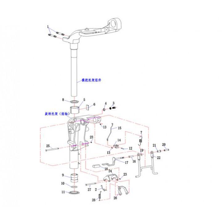 Пластина регулировки поворота 15F-03.09.04