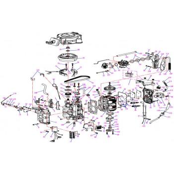 Блок цилиндров F9.9-01.01.00.08