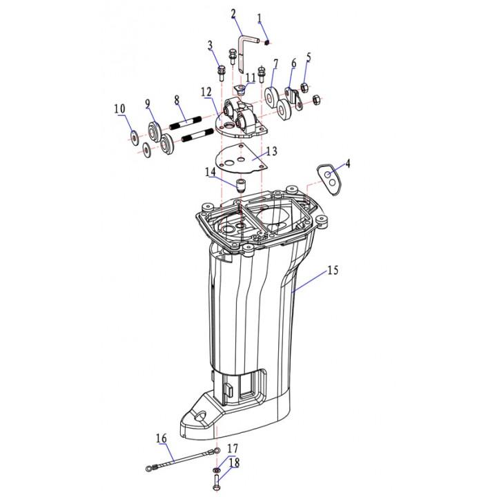 Трубка охлаждения 15F-05.05-S