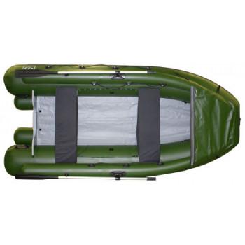 Надувная ПВХ лодка Фрегат M-400 FM Lux