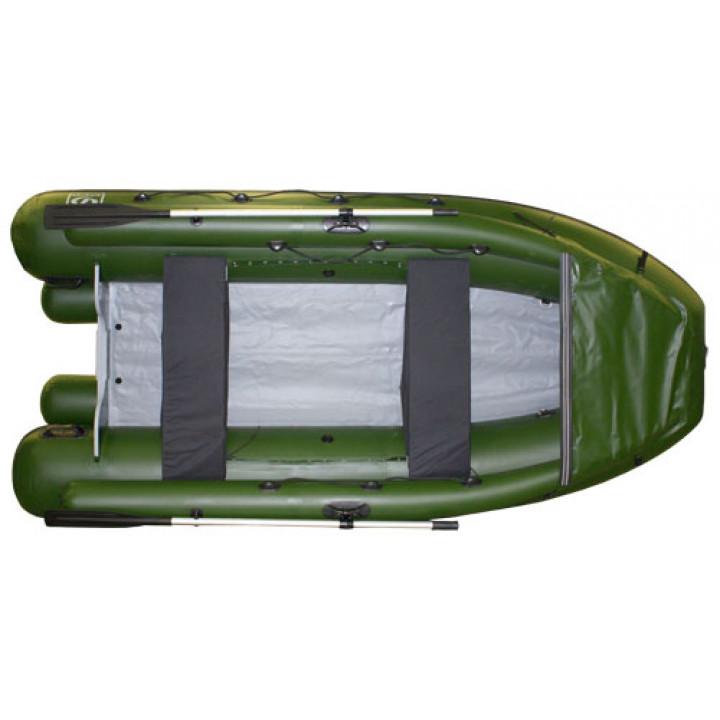 Надувная ПВХ лодка Фрегат M-370 FM Lux