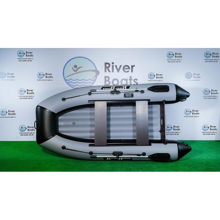 Надувная ПВХ лодка RiverBoats RB-300 НДНД