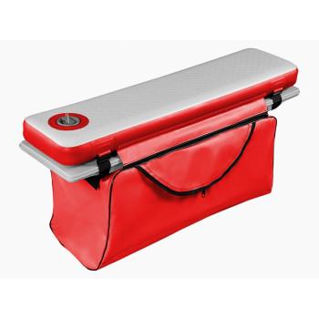 Сумка под банку из ПВХ на молнии (90-125см), красная