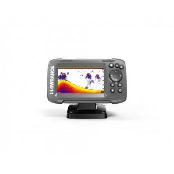Эхолот Lawrance HOOK2-4x с датчиком Bullet Skimmer, цветной экран 4,3-дюйма