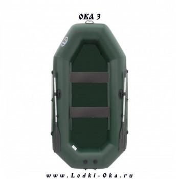 Гребная лодка Ока 3