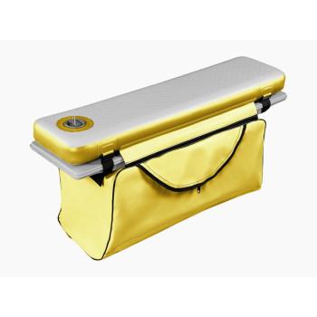 Сумка под банку из ПВХ на молнии (90-125см), желтая